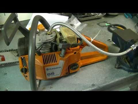 Compression Test of HUSQVARNA 55 Chainsaw