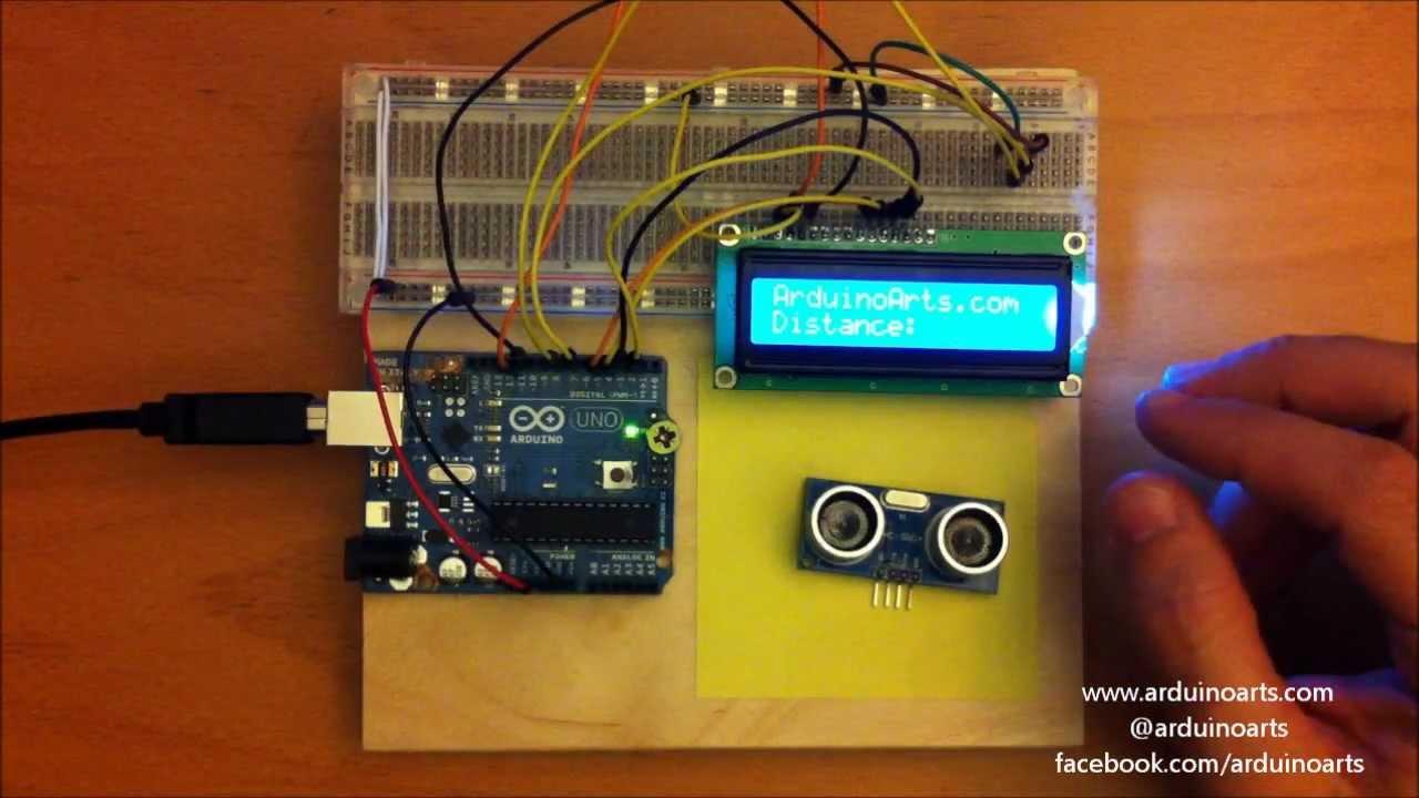 Arduino Tutorial Using An Ultrasonic Range Sensor With