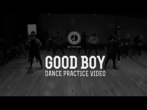 GD X TAEYANG - 'GOOD BOY' DANCE PRACTICE VIDEO #1