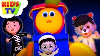 Ha Ha Ha It's Halloween | Bob The Train Halloween Songs For Kids | Nursery Rhymes by Kids Tv