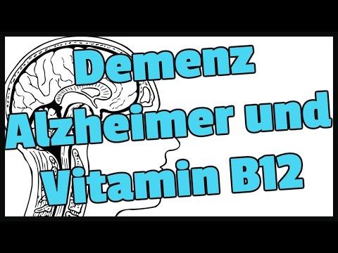 Demenz, Alzheimer und Vitamin B12. Gibt es da einen Zusammenhang?