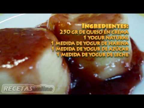 Tarta de queso en el microondas - Recetas de cocina RECETASonline