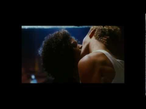 "Jude Law and Nia Long sexy pool table scene in ""Alfie"""