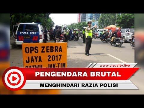 Viral! Pengemudi Xenia Hampir Tabrak Polisi saat Operasi Razia Zebra