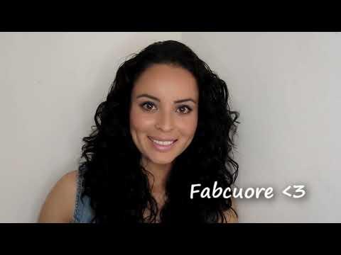 Como peinar mi cabello chino o rizado [Fabcuore] FABCUORE