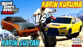 GTA 5 PS4 - Karin Kuruma Vs Karin Sultan | #114 (GTA V)