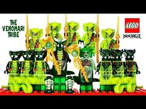 LEGO® Ninjago Rise of the Snakes Venomari Tribe Serpentine Minifigure Collection