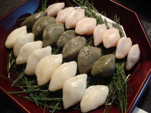 Rice cake for Chuseok (songpyeon)