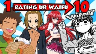 RATING YOUR WAIFUS