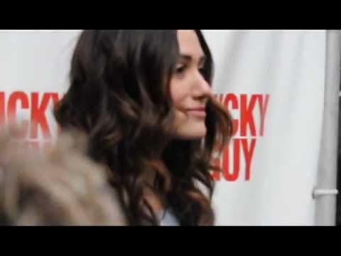 Emmy Rossum at red carpet event
