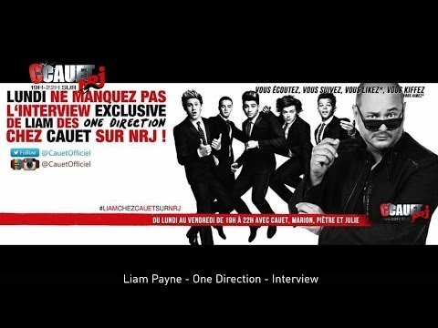 Liam Payne - One Direction - Interview - C'Cauet sur NRJ