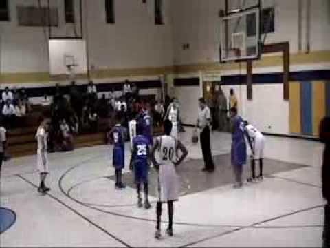 2013 Spring Lake Middle vs Pine Forest Middle school boys Dec.5,2013 highlites