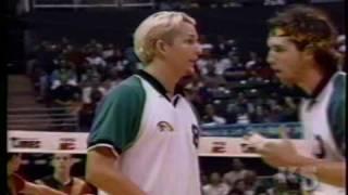 Hawaii Warrior Men Volleyball '97 -  Warriors Vs Laval (part 3 of 7)