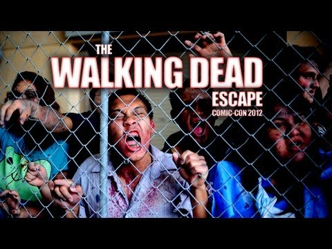 YH Versus ZOMBIES! The WALKING DEAD Escape at Comic-Con!