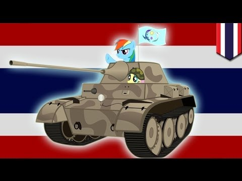 Thailand military declare coup, here we go again