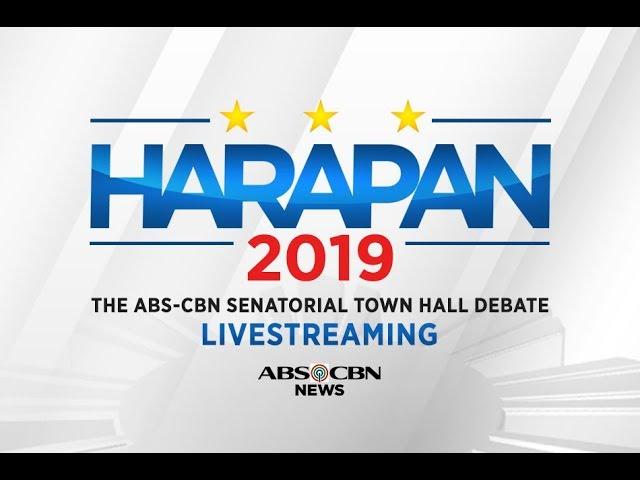 Harapan 2019: The ABS-CBN Senatorial Town Hall Debate