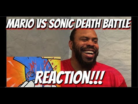 Mario VS Sonic Death Battle REACTION!!!
