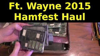 Hamfest Haul Ft. Wayne 2015