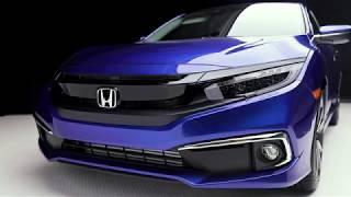 2019 Honda Civic Sedan Touring Walkaround