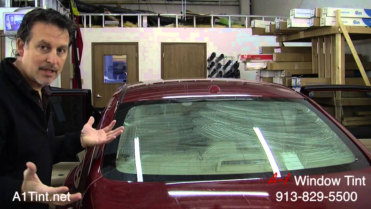 Window Tinting Diy How To Tint Auto Back Glass Youtube