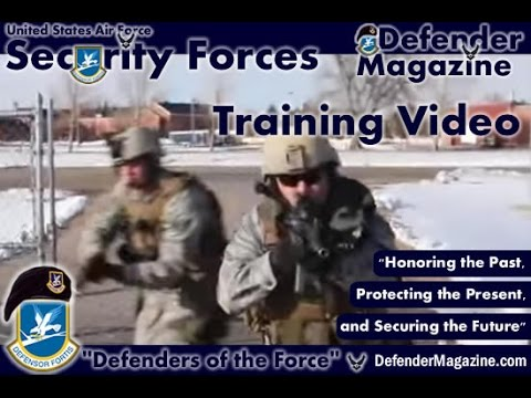 U S  Air Force Security Forces Training and Exercise 2013 Video