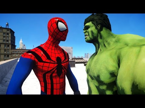 SPIDERMAN VS HULK - THE SENSATIONAL SPIDER-MAN