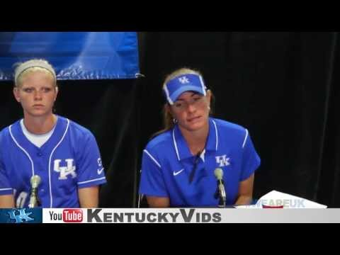 Kentucky Wildcats TV: UK Softball Post-Game 1 vs ASU NCAA Super Regional