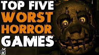 Top Five Worst Horror Games - rabbidluigi