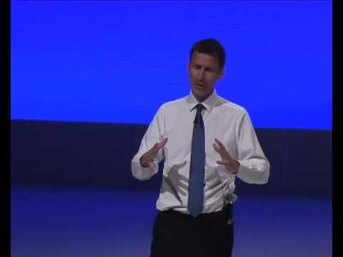 Jeremy Hunt's full speech - RCGP conference Liverpool