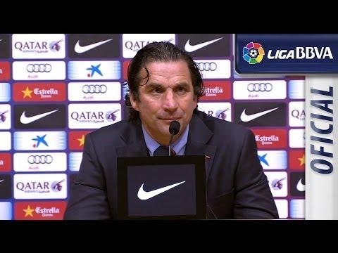 Rueda de Prensa de Pizzi tras el FC Barcelona (2-3) Valencia CF - HD