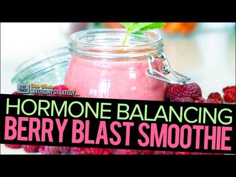 Hormone Balancing Berry Blast Smoothie