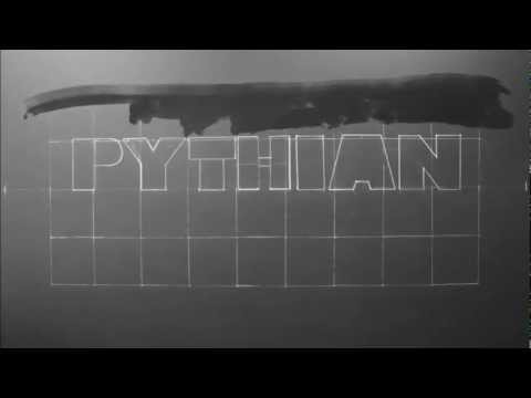 Watch the chalkboard wall come together for the Pythian Days video