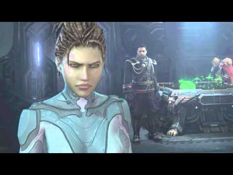 Starcraft 2 Heart of the Swarm (Español Latino) Todas las Cinemáticas