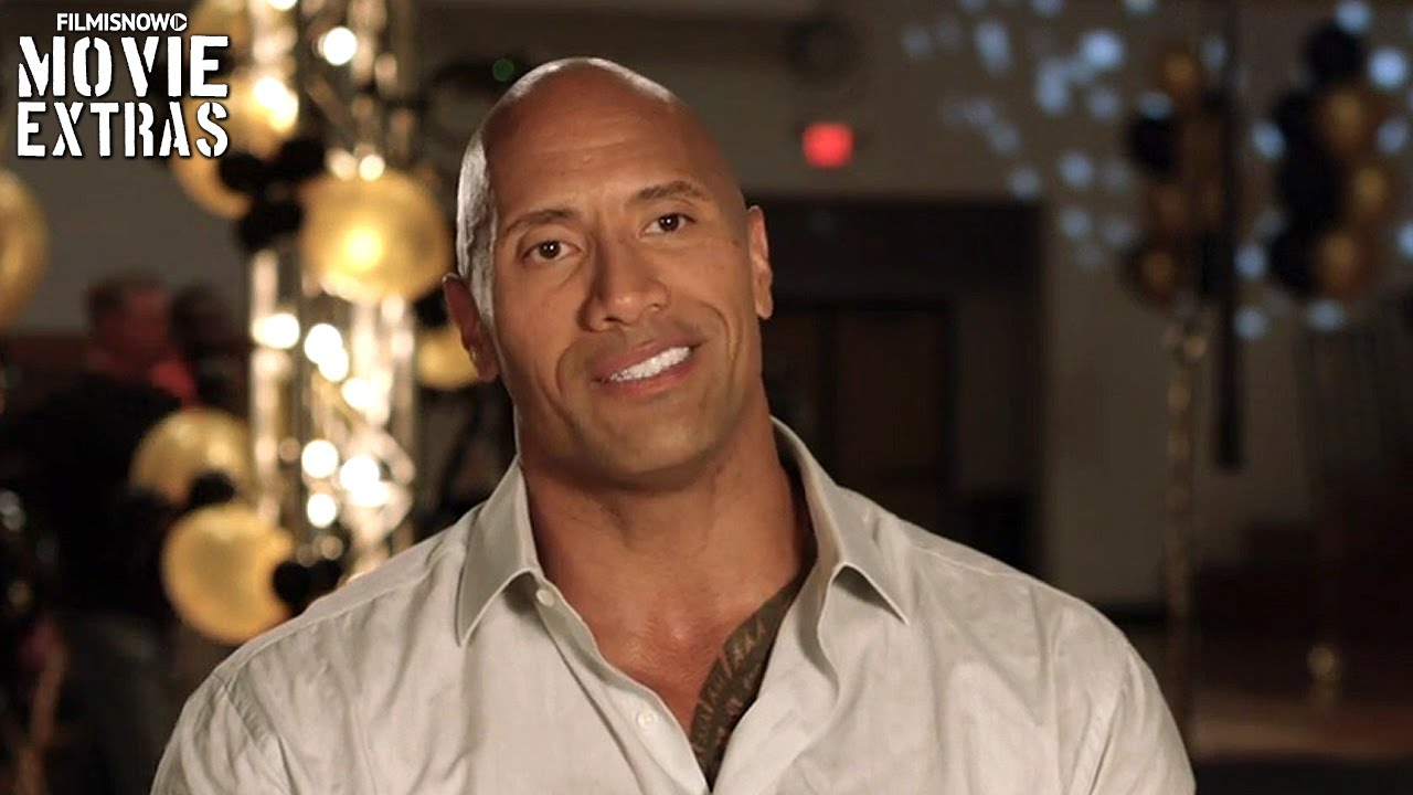 Central Intelligence | On-set with Dwayne Johnson 'Bob Stone' [Interview]