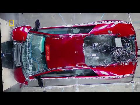 Lamborghini Murcielago Crash Test 720p