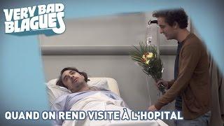 Quand on rend visite à l'hôpital - Palmashow