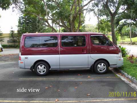 nissan urvan 2010 part 1