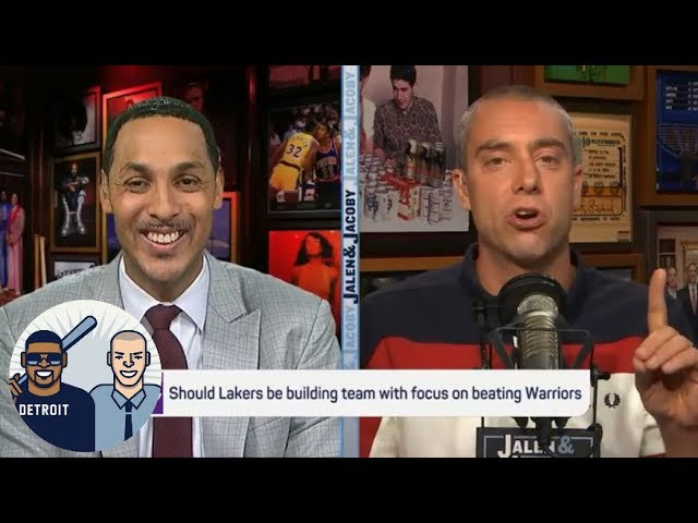 Lakers building right kind of team around LeBron to compete with Warriors? | Jalen & Jacoby | ESPN