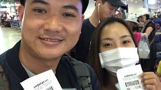 Honeymoon Day 1  Đừng bao giờ đi máy bay Vietjetair