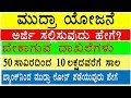 How To Get Government Scheme Mudra Yojana Loan Details In Kannada ಪ ರಧ ನ ಮ ತ ರ ಮ ದ ರ ಯ ಜನ mp3