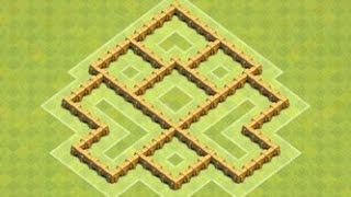 Clash of Clans - TH 5 Trophy / Clan War Base