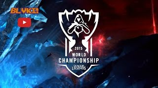 Faker Vayne Pentakill ( Final World Championship 2015 ) 31-10-2015- By BLVKI