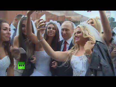 Владимир Путин посетил праздничный концерт на Красной площади по случаю Дня города
