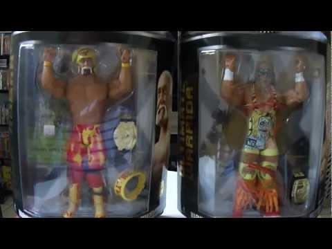 Unboxing My New Ultimate Warrior & Hollywood Hulk Hogan Figures (CAWWE12W)