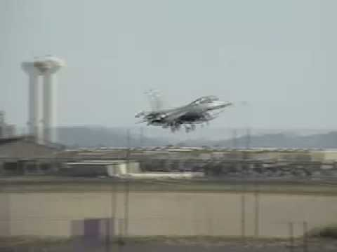 F-16s at Luke AFB Video