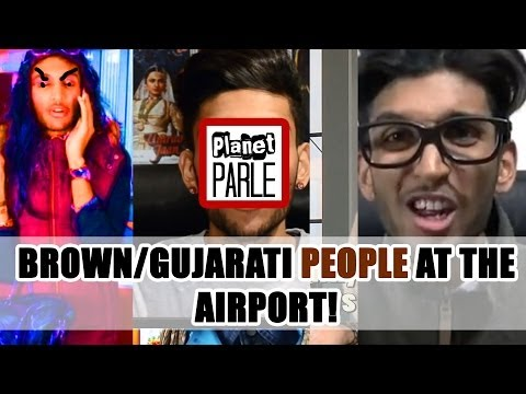2 - Brown gujarati People At The Airport! video