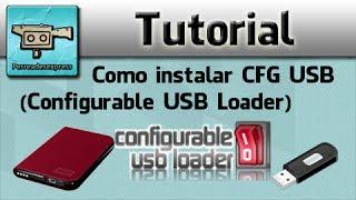 Como instalar CFG USB (Configurable USB Loader)