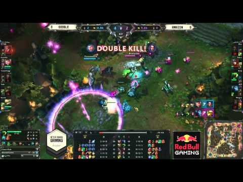 AHGL Season 3 Finals - LoL Grand Finals - Amazon vs Google - G1