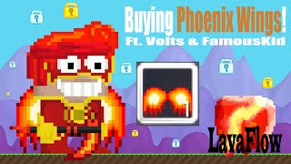 Growtopia - Buying Phoenix Wings for 580 wls!