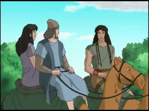 Bible Stories - Old Testament  Samson And The Philistines video